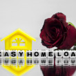Easy home loan — Stock Photo