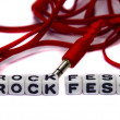 Stock Photo: Rock fest