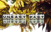 Uneasy past — Stock Photo