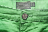 Green trouser front — Stock Photo