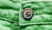 绿色的裤子裤子特写 — 图库照片