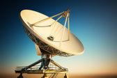 射电望远镜 — 图库照片