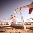 Oil Pump Jack. — Foto de Stock