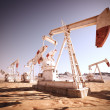 Oil Pump Jack. - Stock Photo