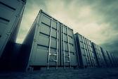 Contenedores de carga. — Foto de Stock