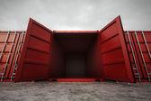 грузовые контейнеры. — Стоковое фото