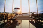 Lotnisku. — Zdjęcie stockowe