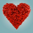 Stock Photo: Hearts.
