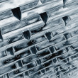 Stacked platinum bars — Stock Photo #21655117
