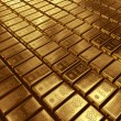 Stacked gold bars — Stock Photo #21655705