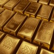 Stacked gold bars — Stock Photo #21655751