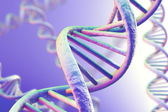 DNA Magnification — Stock Photo