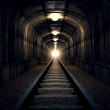 Light at the end of tunnel. — Stock Photo #25081319