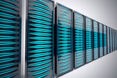 Rack of servers. — Stock Photo
