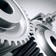 Close up of machine gears. — Stock Photo #25357041