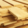 Stack of Wood Planks - Stock Photo