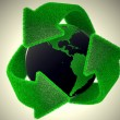 Recycle Earth. — Stock Photo