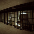 Prison cell. — Stock Photo