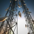 Royalty-Free Stock Photo: Communication towers.