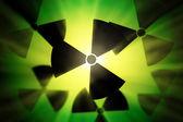 Radioactive sign. — Stock Photo
