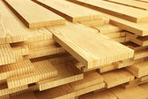 Stack of Wood Planks — Foto Stock