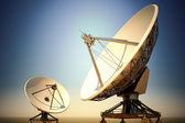 Satellite dishes. — Stock Photo