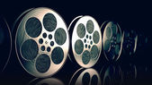 Film reels. — Stock Photo
