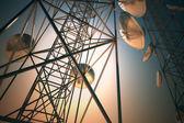 Communication towers. — Stock Photo