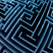 Stock Photo: Maze.