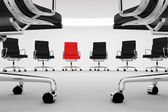 Office chairs. — Stock Photo