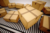 Package sorting. — Stock Photo