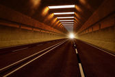 Tunnel road. — Stock Photo
