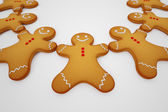 Gingerbread man. — Stock Photo