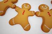 Gingerbread man. — Stock Photo