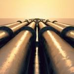 Pipeline sunset. — Stock Photo #26273433