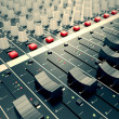 Audio Console. — Foto Stock #26274551