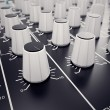 Audio Console. — Foto Stock