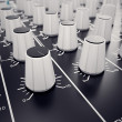 Audio Console. — Foto de Stock