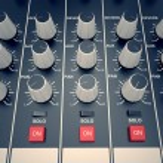 Audio Console. — Stock Photo #26276335