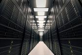 Serverruimte. — Stockfoto