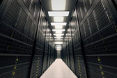 Server room. — 图库照片