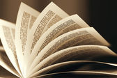 Turning pages. — Stock Photo