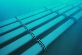 Underwater pipeline. — Stock Photo