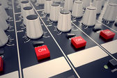 Audio Console. — Stock fotografie