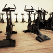 Stationary bike. — Stock Photo #26470243