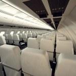Airplane seats. — Stock Photo #26470967