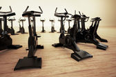 Stationary bike. — Stock Photo