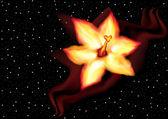 Kwiat ognia — Wektor stockowy