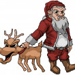 Royalty-Free Stock Vektorgrafik: Bad Santa