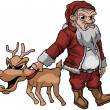 Royalty-Free Stock Imagen vectorial: Bad Santa
